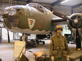 Mitchell B25 in museum 350